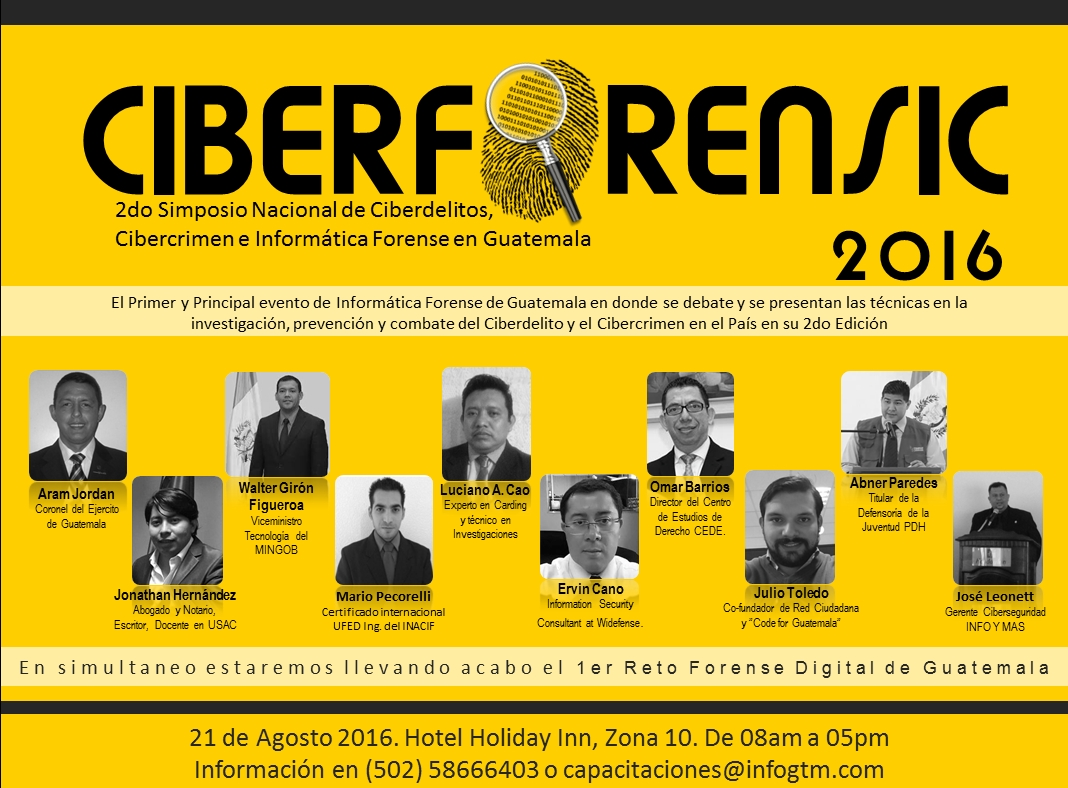 CIBERFORENSIC 2016